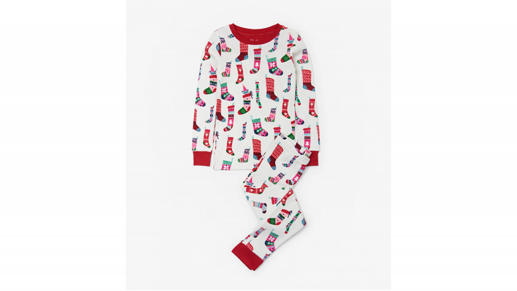 hatley organic stocking pjs