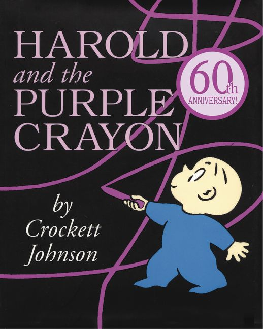 Harold and the purple crayon-book cover