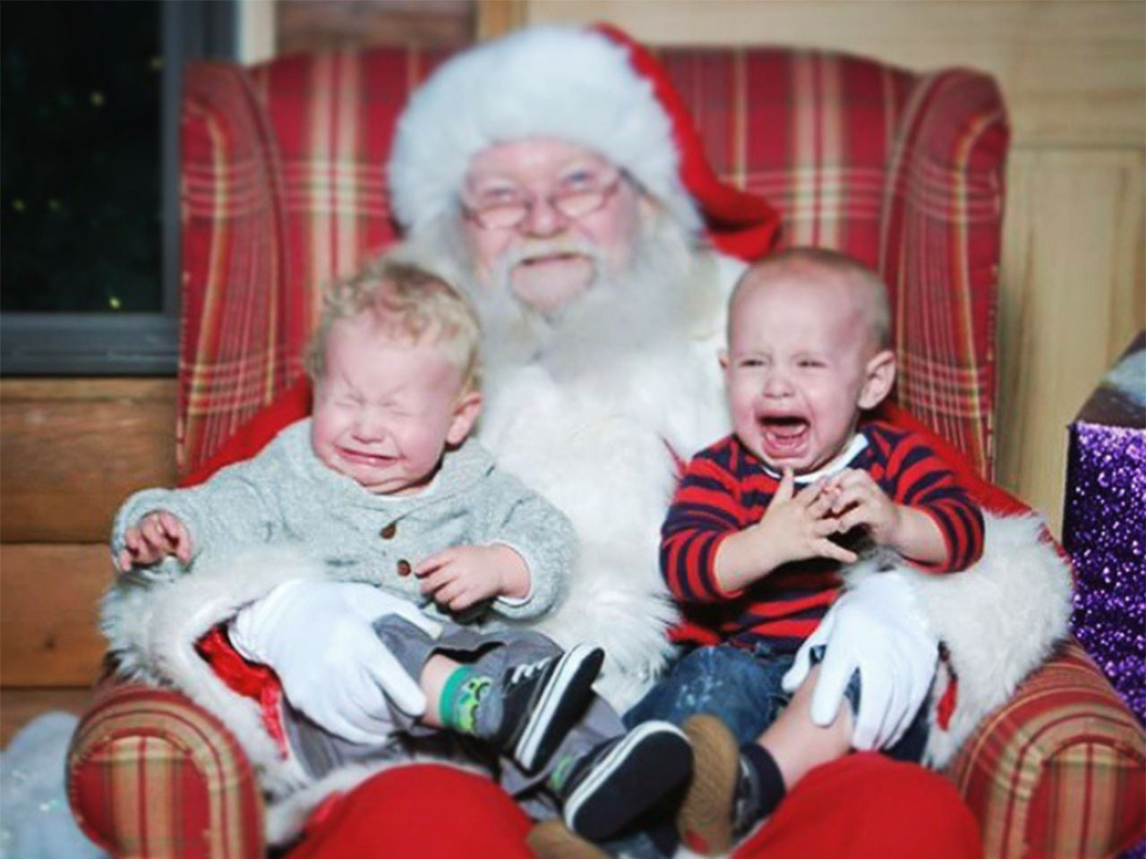 What i learned after forcing my baby to sit on santas lap