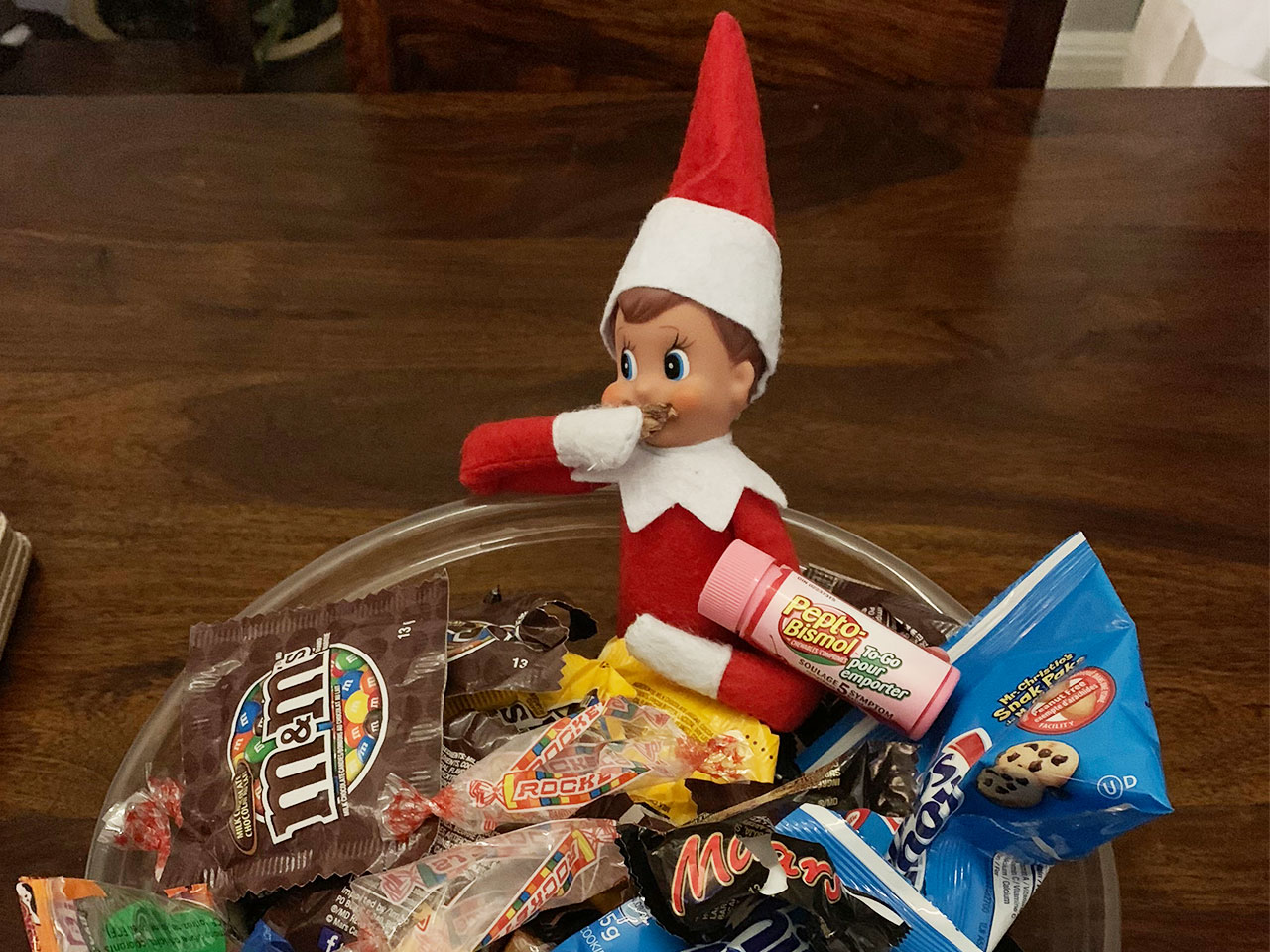 Whatever Haters I M Loving Coming Up With Elf On The Shelf