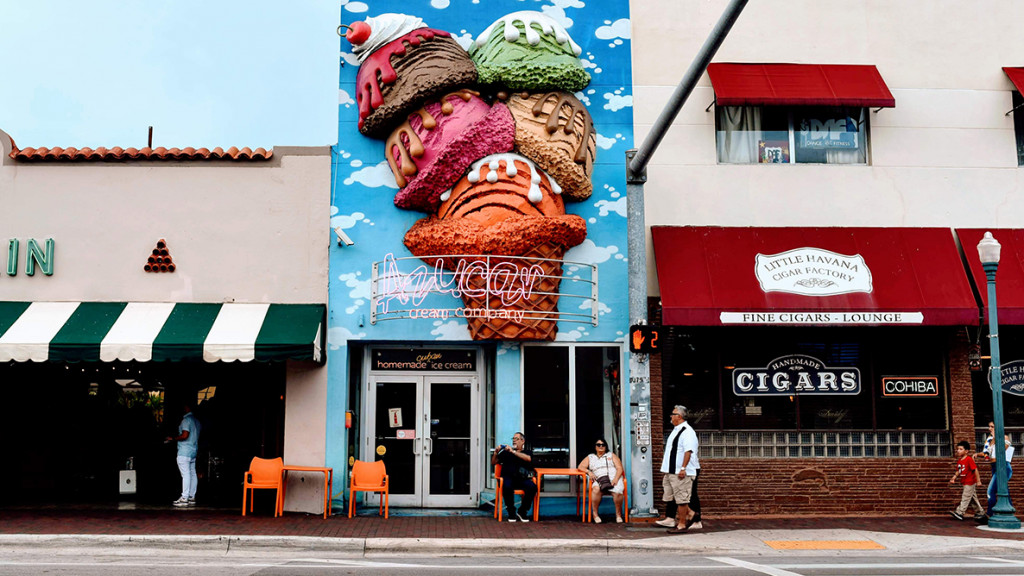 street view of Azucar ice cream shop