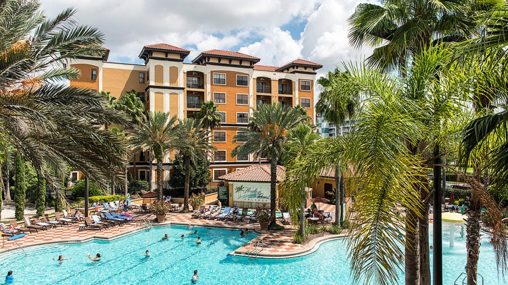 View of the pool at Floridays Resort in Orlando