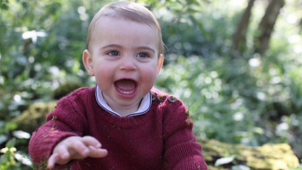 Prince Louis is all smiles in the cutest new photos for his first birthday