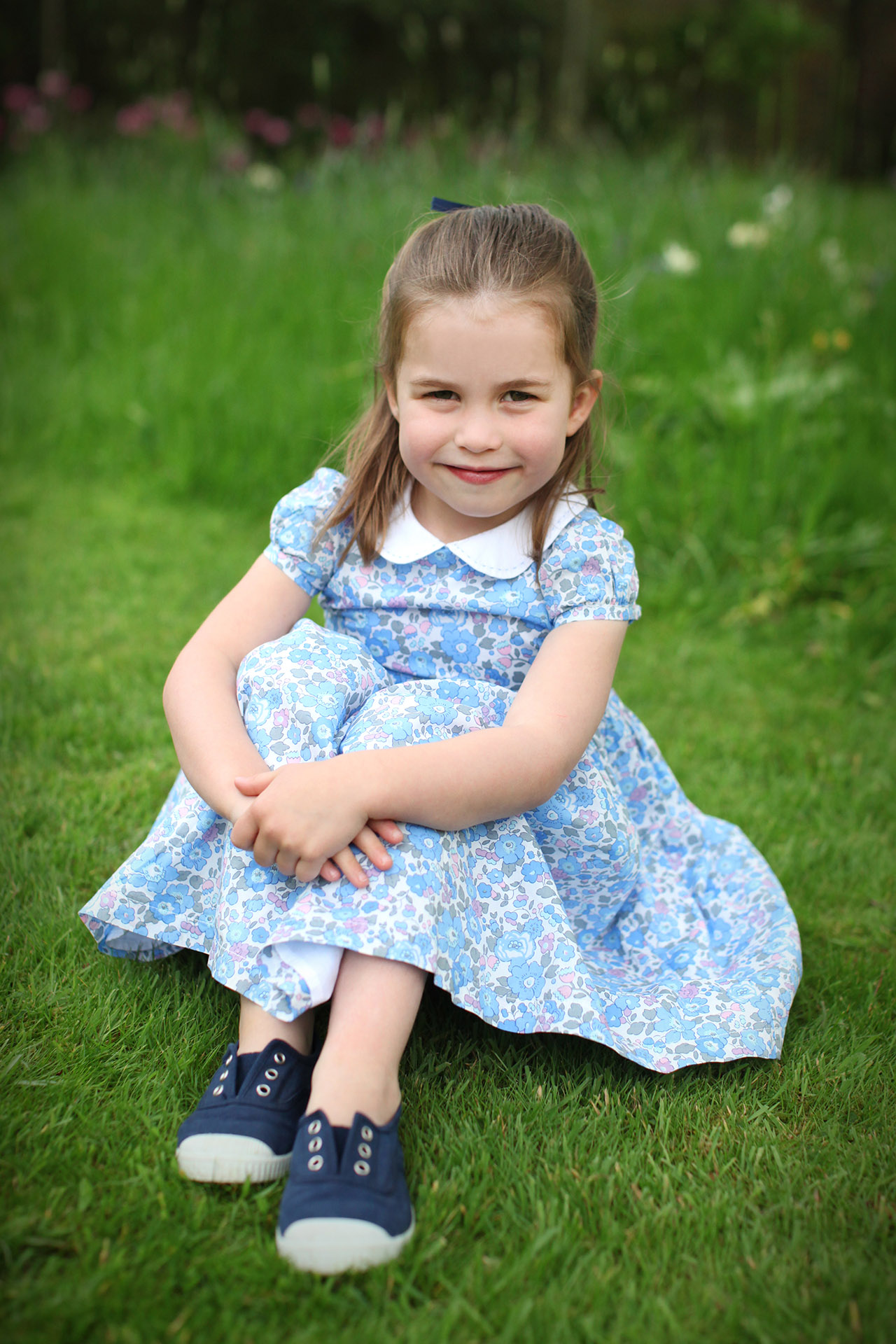 Princess Charlotte S New 4th Birthday Photos Taken By Mom