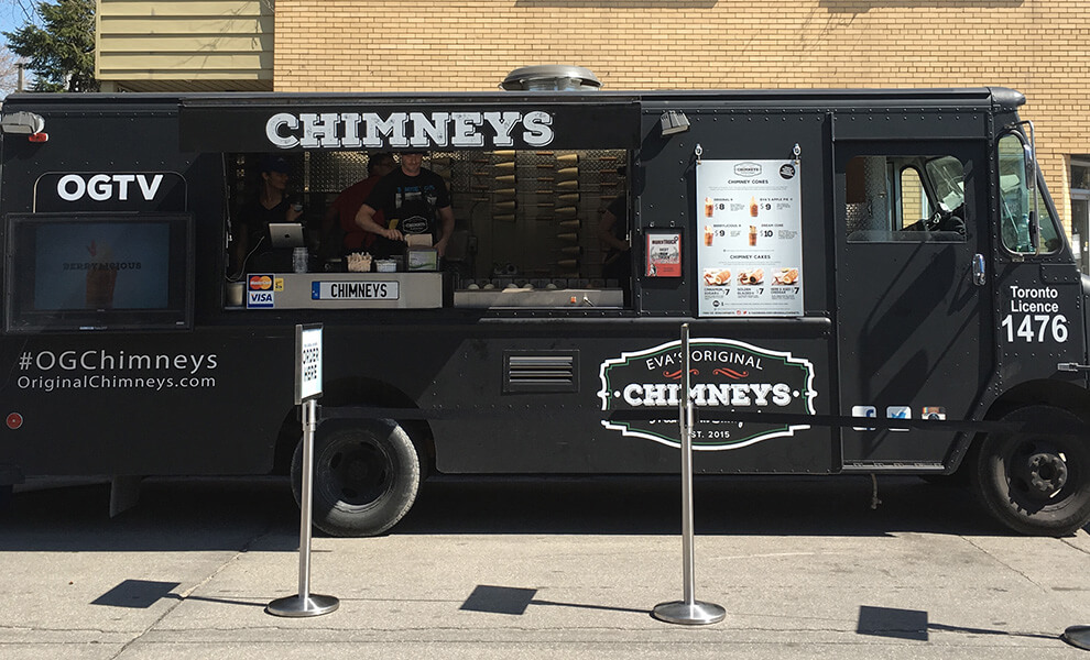 Eva's Chimney food truck