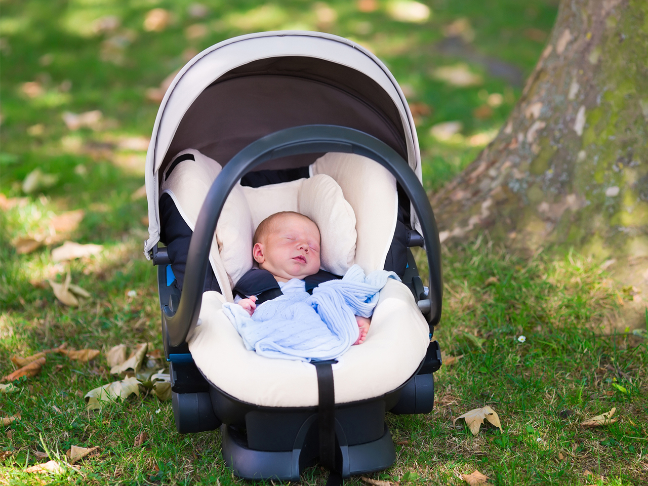 Letting your baby sleep in the car seat is super risky—here's why