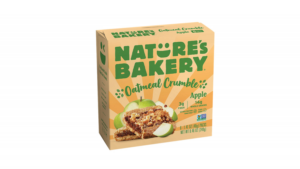 Nature's bakery oatmeal crumble bars