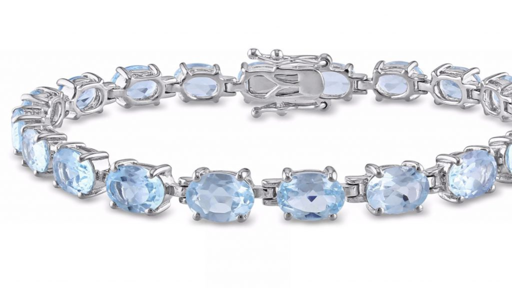 December birthstone: Blue topaz