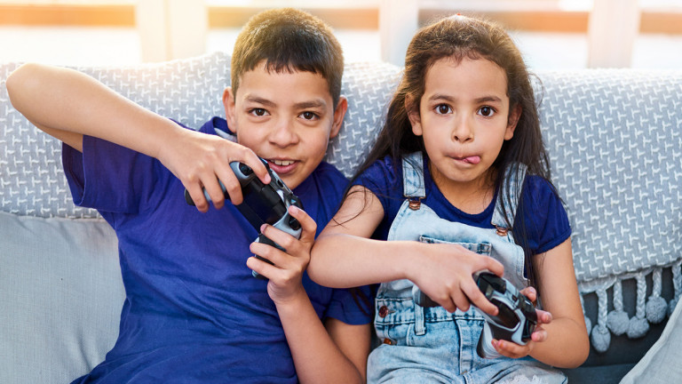 The surprising benefits of video games for kids