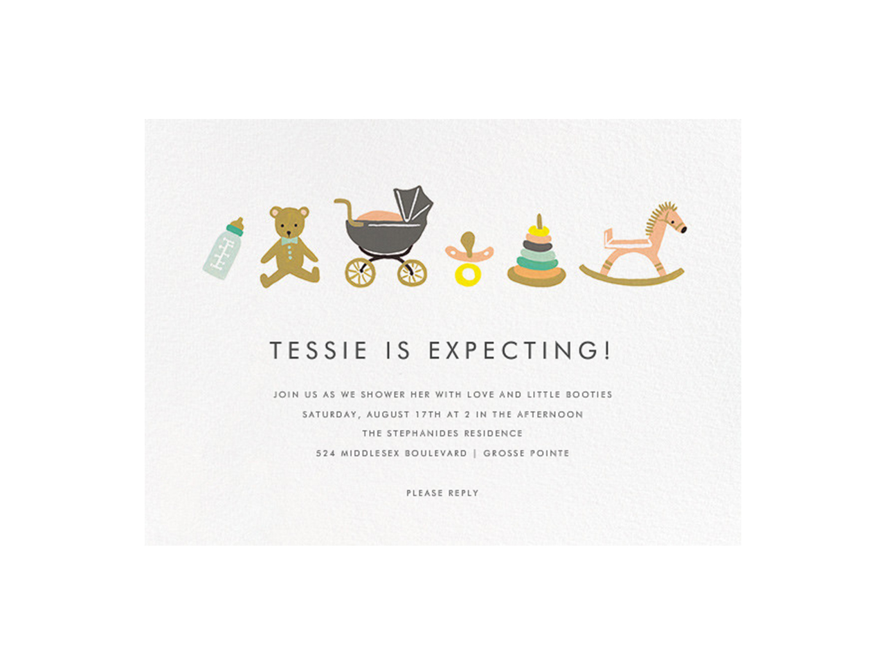 12 Adorable Baby Shower Invitations For