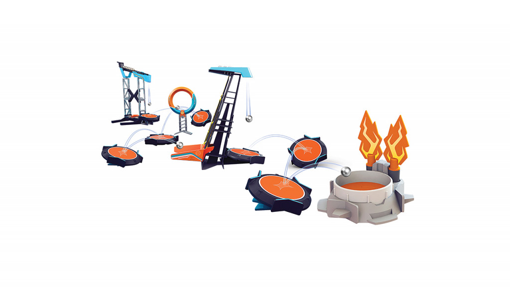 Boomtrix showdown play set