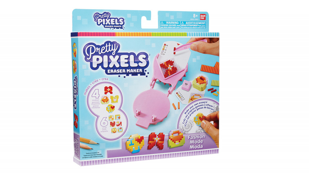 pretty pixels eraser maker sweets version gifts for kids