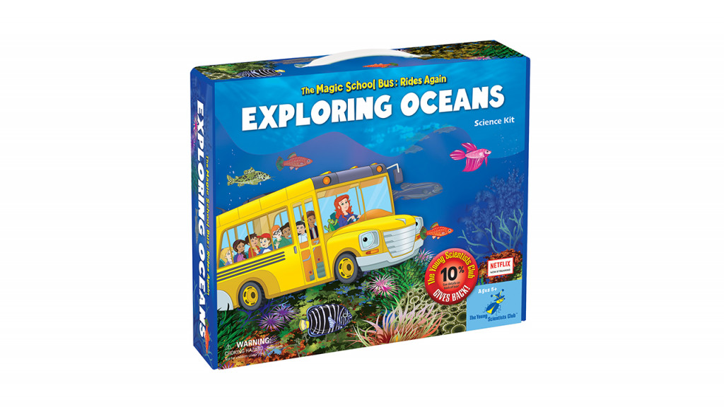 The magic school bus rides again exploring oceans game