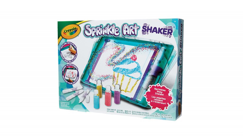 Crayola sprinkle art shaker best toy 2019