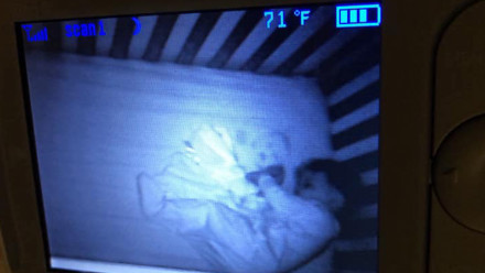 Is that a ghost baby? One mom's terrifying baby monitor scare