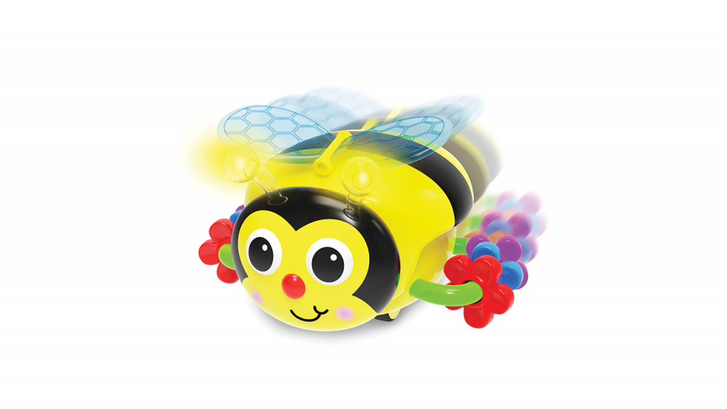 Crawl about bee baby toy