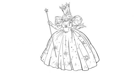 Colouring pages: Wizard of Oz