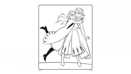 Colouring pages: Frozen