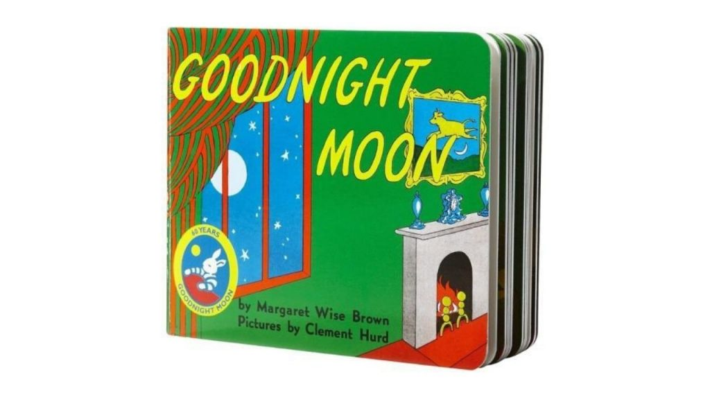 Goodnight Moon hard cover book