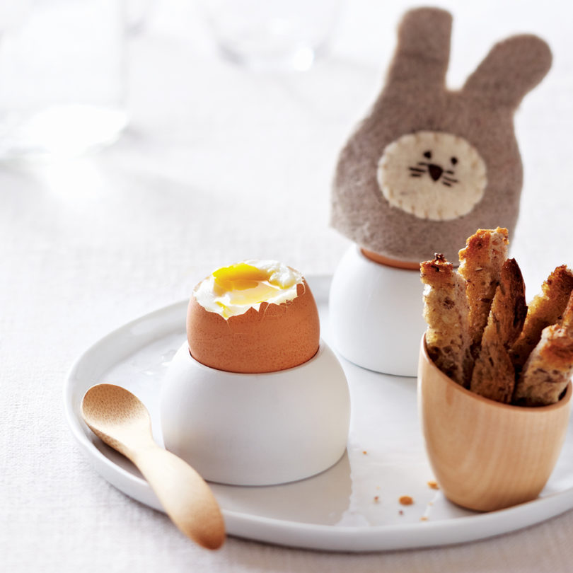 The perfect soft-boiled egg and soldiers