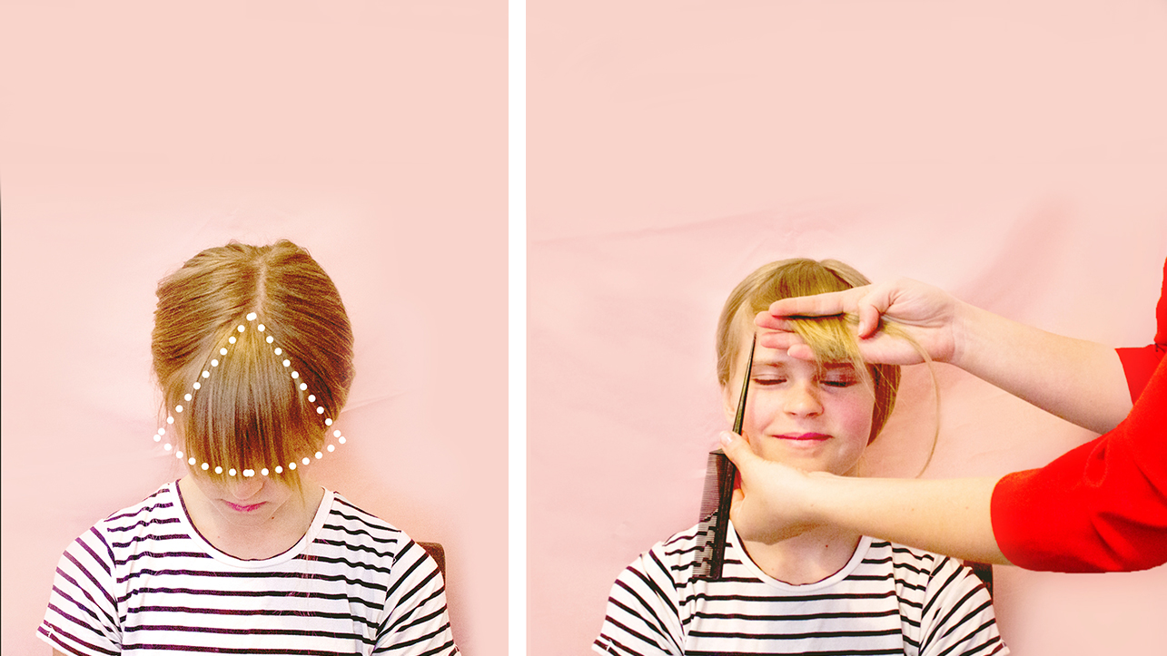 How To Cut Bangs At Home A Step By Step Guide