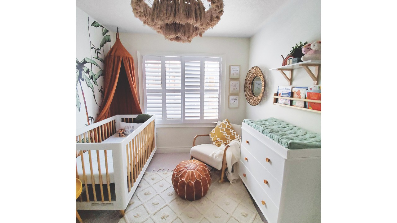 bohemian nursery decor baby room
