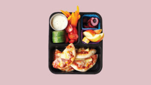 mini pizza easy bento box lunch ideas