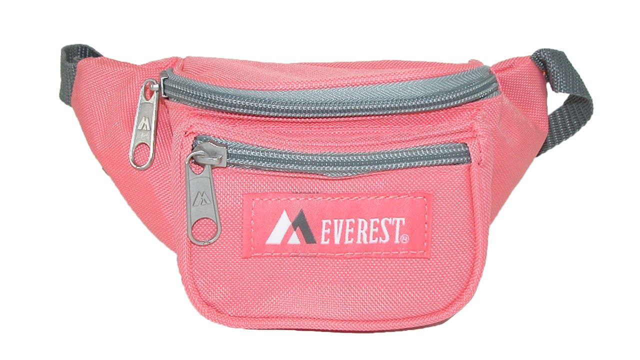 pink waist pack for kids