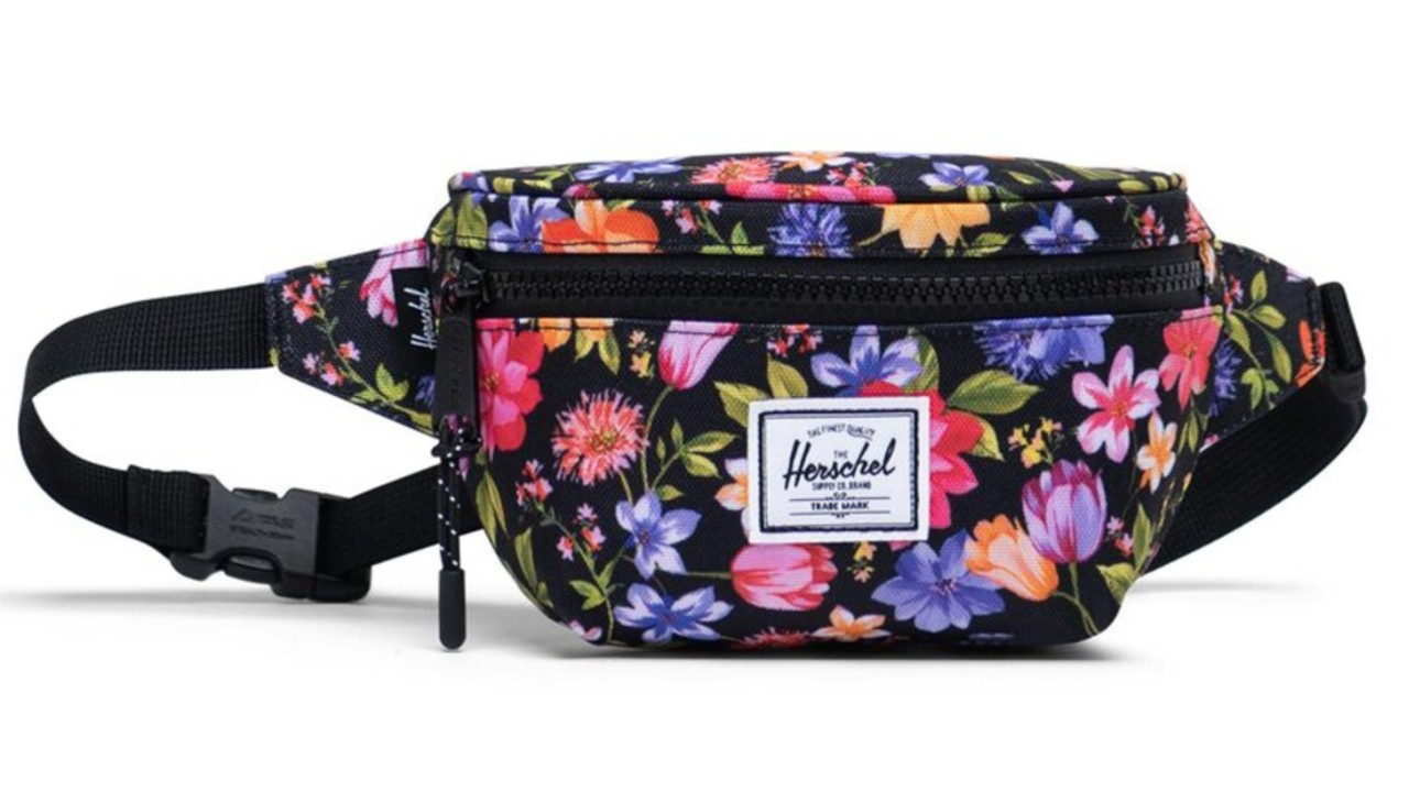 floral print waist pack for kids