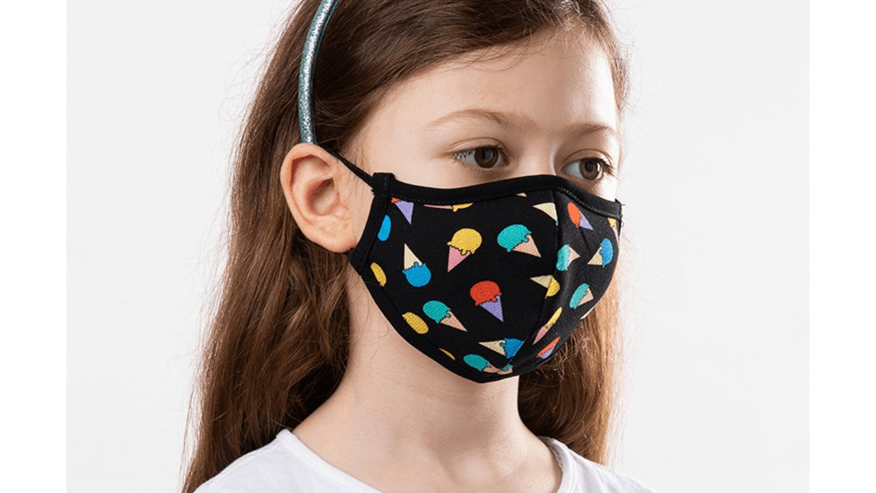 reusable face mask for kids