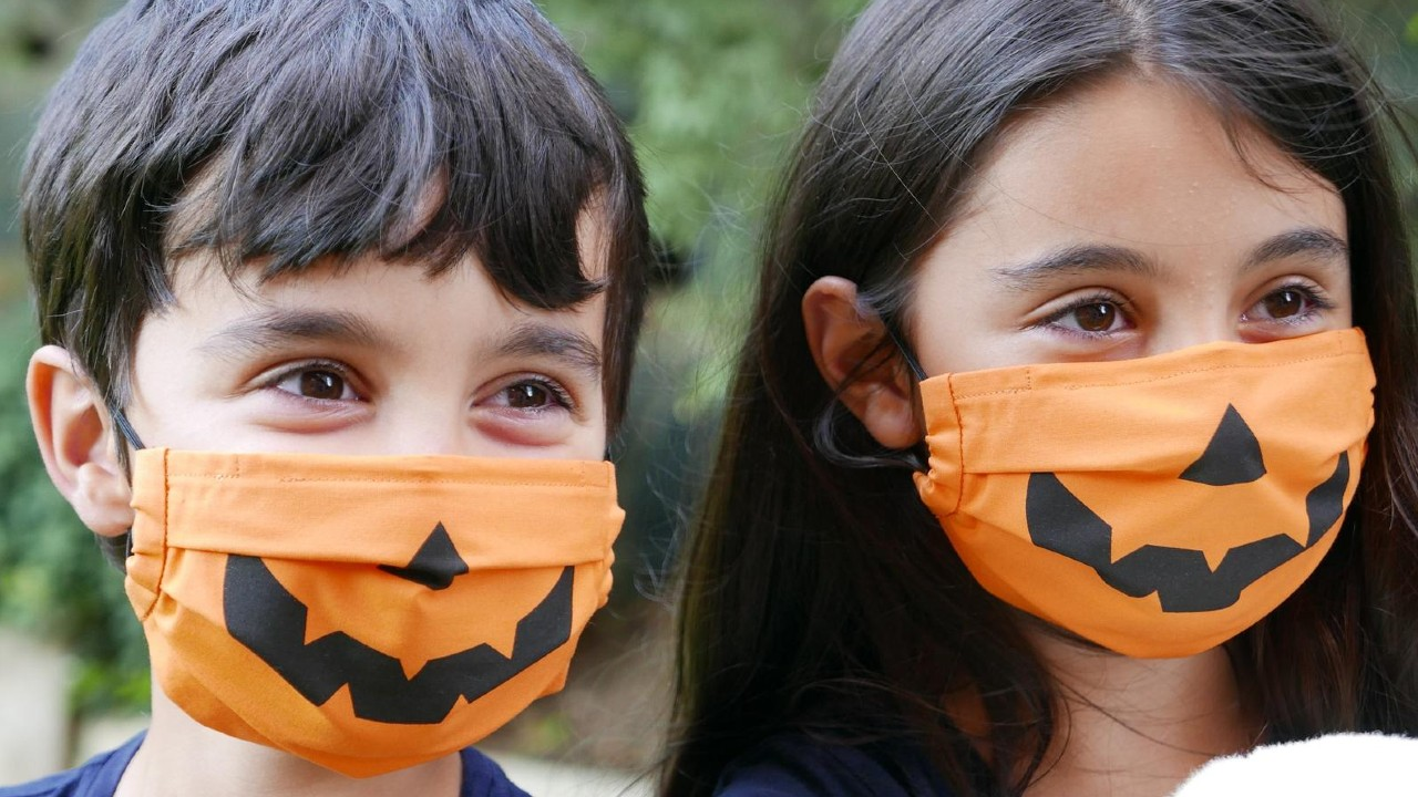 Kids Halloween Face Masks 10 Spooky Coverings To Go With Their Costume