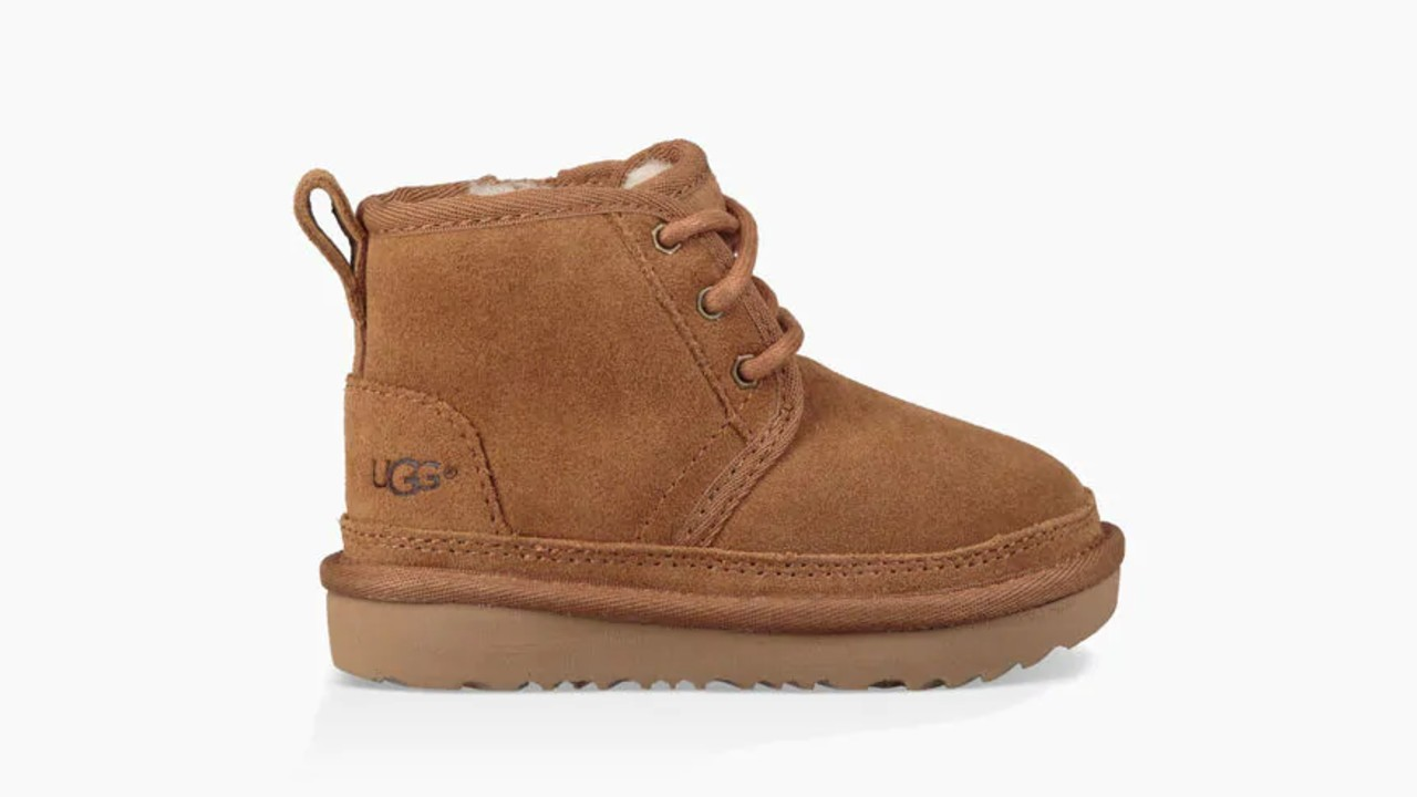 lace-up kids winter boots