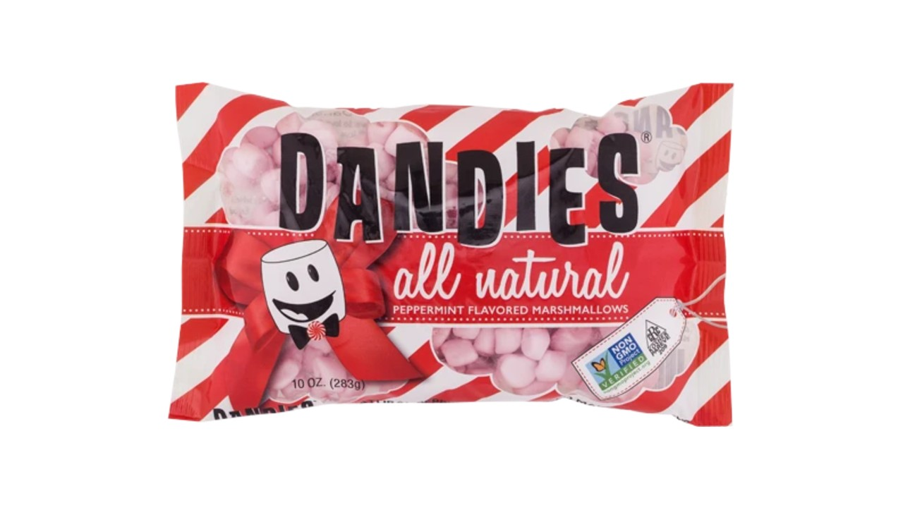 plant-based peppermint marshmallows